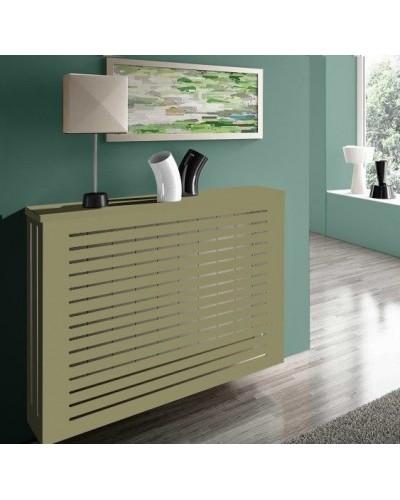 Cubreradiador moderno madera lacado 1443-001