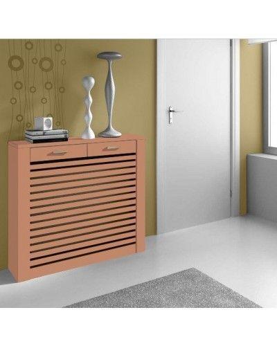 Cubreradiador moderno madera lacado 1443-002
