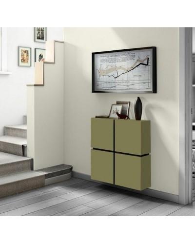 Cubreradiador moderno madera lacado 1443-003
