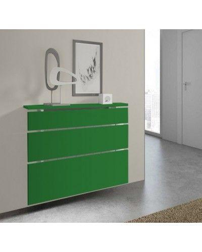 Cubreradiador moderno madera lacado 1443-004