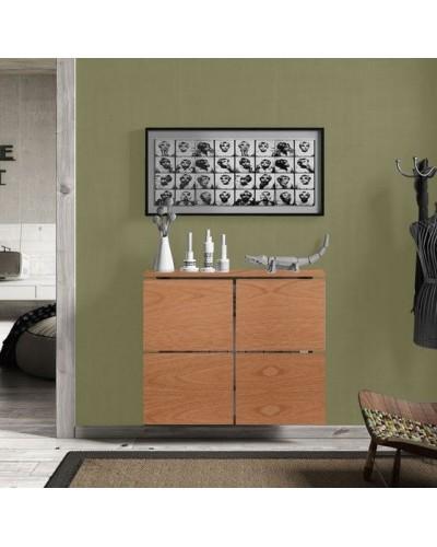 Cubreradiador moderno madera lacado 1443-008