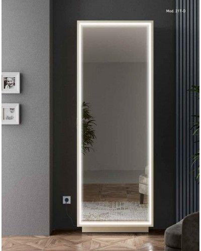 Zapatero moderno madera diseño luz led 194-217