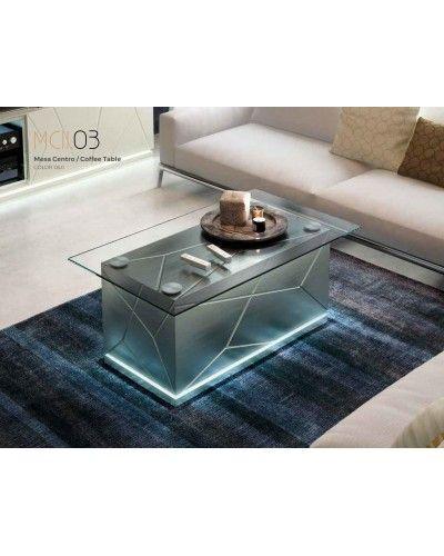 Mesa centro moderna diseño 397-AZC03
