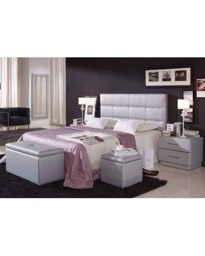 Dormitorio moderno tapizado  956-87
