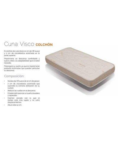 Colchón Cuna Viscoelástico 284-CUNA VISCO