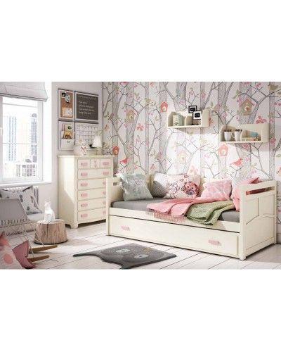 Dormitorio Juvenil colonial moderno diseño 79-OC300