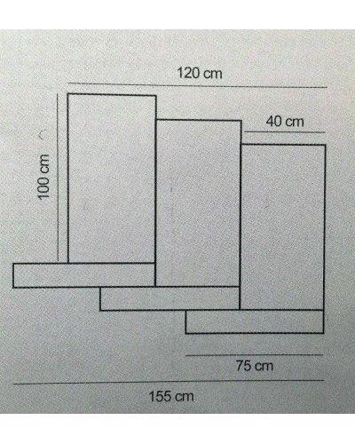 Recibidor moderno masintex 50-2055