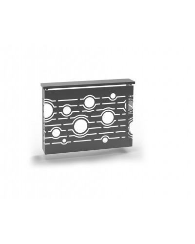 Cubreradiador Diseño forja metálico 1215-Neysa
