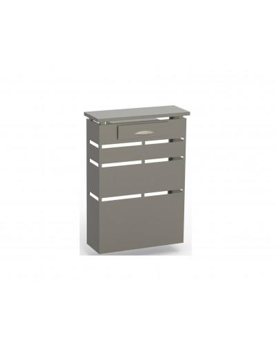 Cubreradiador Diseño forja metálico 1215-Lineal con cajon