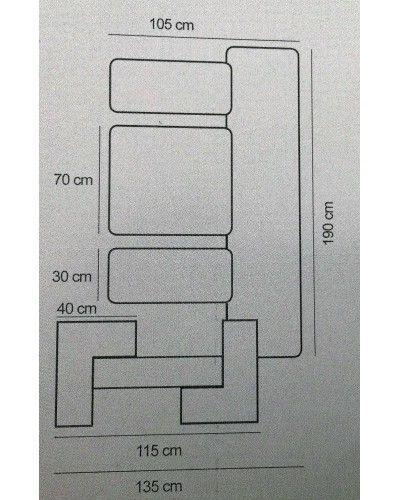 Recibidor moderno masintex 50-3005