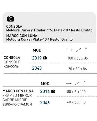 Recibidor moderno lacado 194-2019-2016