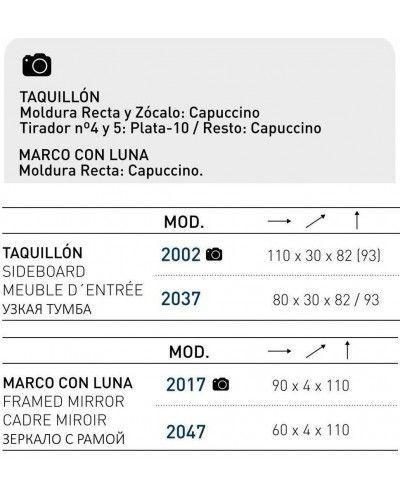 Recibidor moderno lacado 194-2002