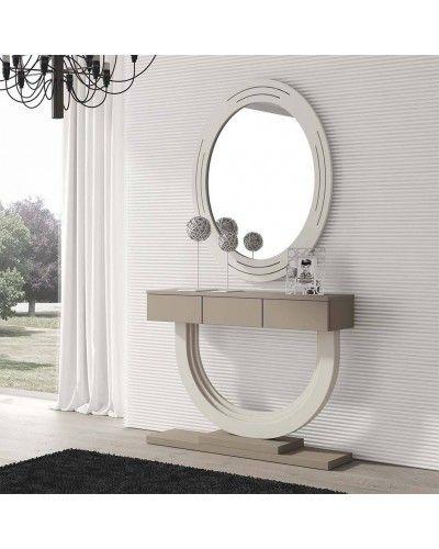 Recibidor moderno con espejo 194-664