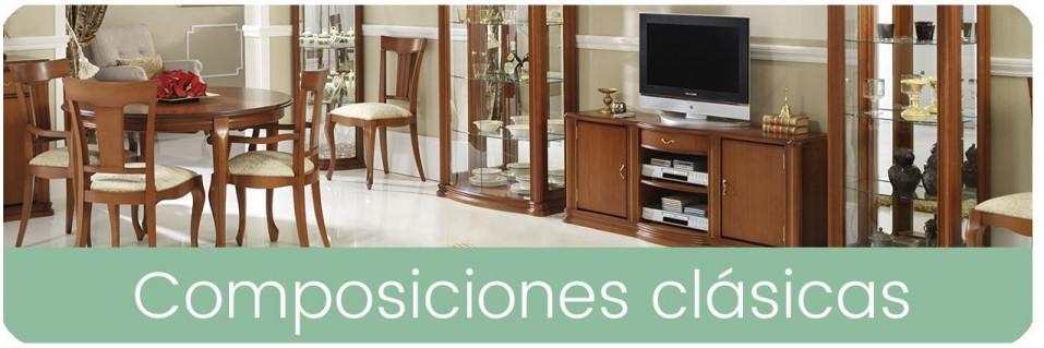 Comedores clásicos para el salón | Mobles Sedavi