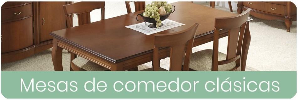 ▷ Mesas de Comedor Clásicas para el Salón 【 ENVIO GRATIS 】