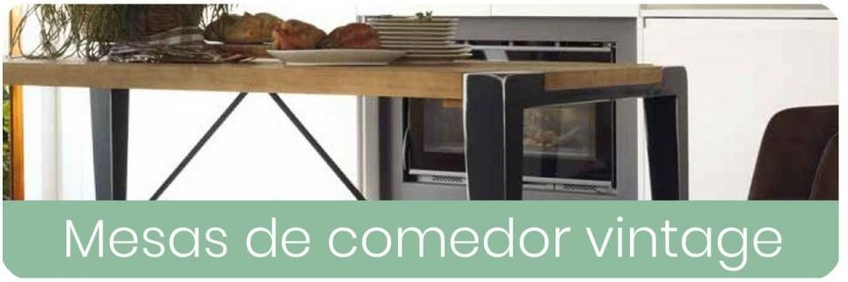 Mesas de Comedor Vintage para el Salón | Mobles Sedavi