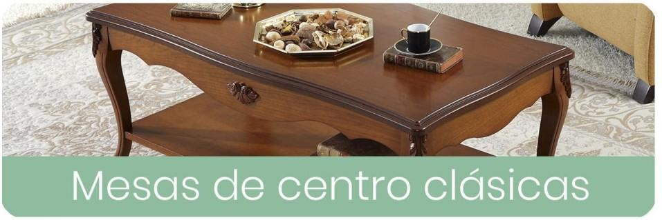 Mesas de centro clásicas para el salón | Mobles Sedavi