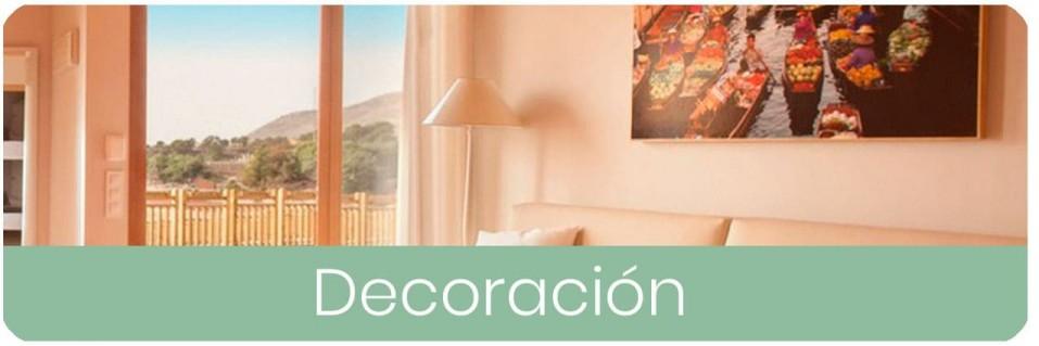 Decoración, espejos, puffs, cuadros | Mobles Sedaví
