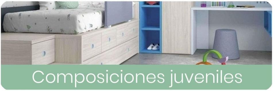 Composiciones para dormitorios juveniles | Mobles Sedavi