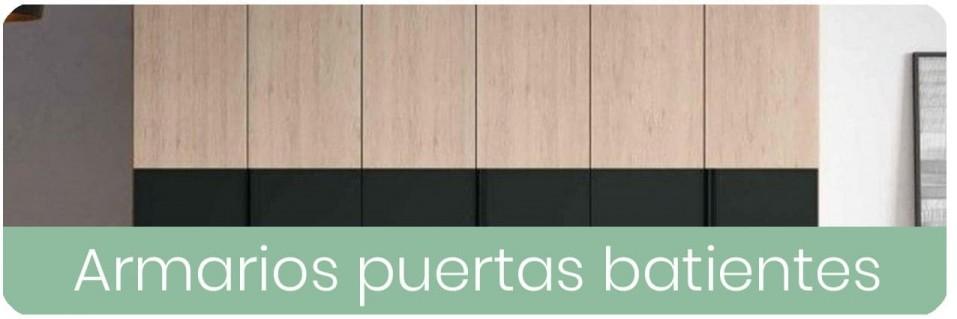 Armarios modernos de puertas batientes | Mobles Sedaví