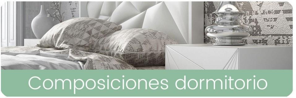 Composiciones de dormitorios matrimonio | Mobles Sedaví