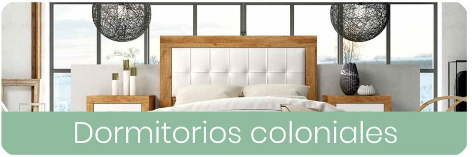 Dormitorios Coloniales para Matrimonio | Mobles Sedaví