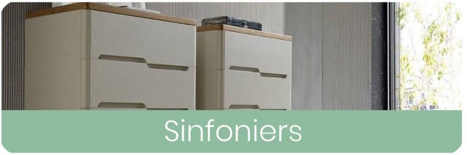 Sinfoniers para dormitorio de matrimonio | Mobles Sedavi