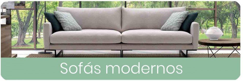 Sofás modernos de 2 y 3 plazas para el salón | Mobles Sedavi