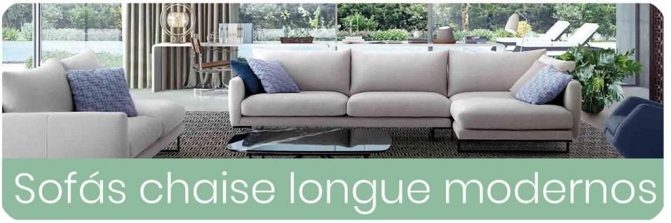 ▷ Sofás Chaise Longue Modernos para el salón |【 ENVIO GRATIS 】