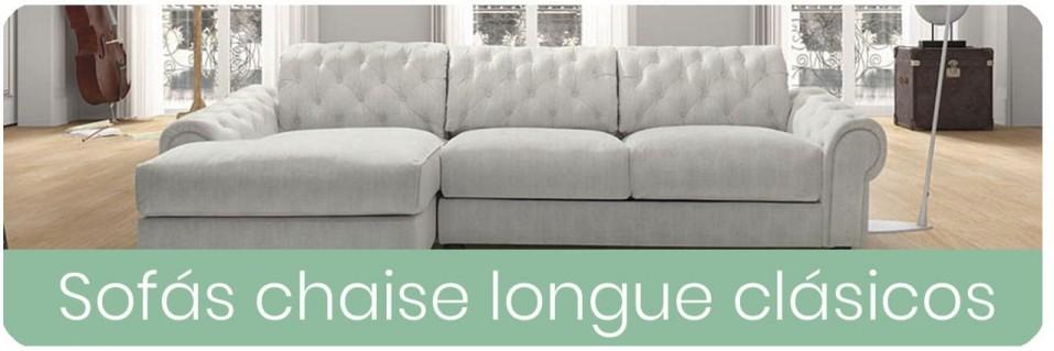 Sofas Chaise Longue clásicos para el salón | Mobles Sedavi