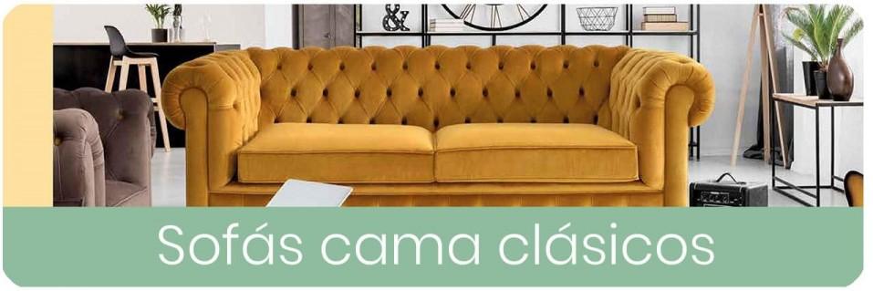 Sofas cama clásicos para el salón | Mobles Sedavi