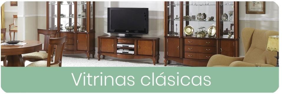 ▷ Vitrinas Clásicas para el Salón 【 ENVIO GRATIS 】| Mobles Sedavi