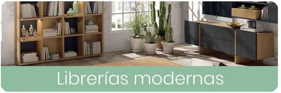 Librerías Modernas para el Salón | Mobles Sedavi