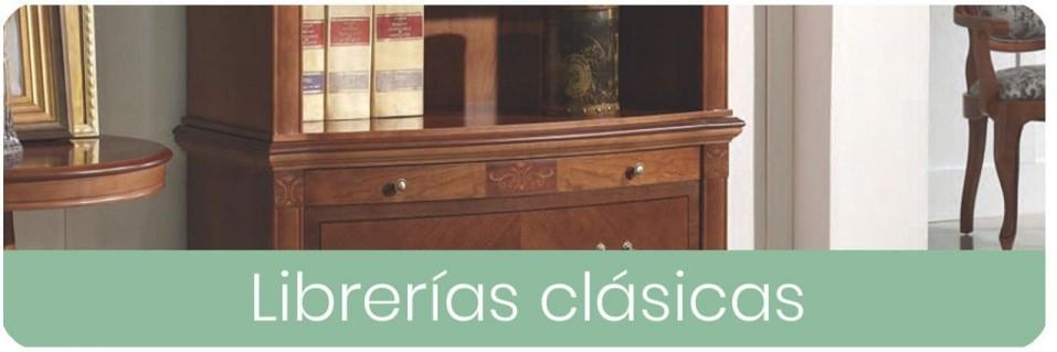 Librerías Clásicas para el Salón | Mobles Sedavi