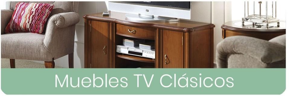 ▷ Muebles TV Clásicos para el Salón 【 ENVIO GRATIS 】
