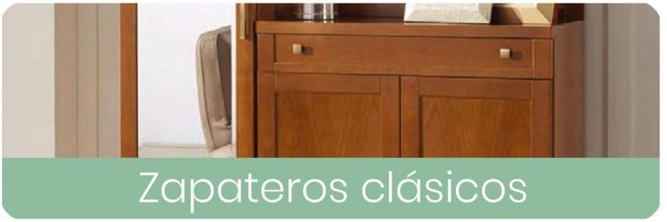 Zapateros clásicos para dormitorios de matrimonio | Mobles Sedavi