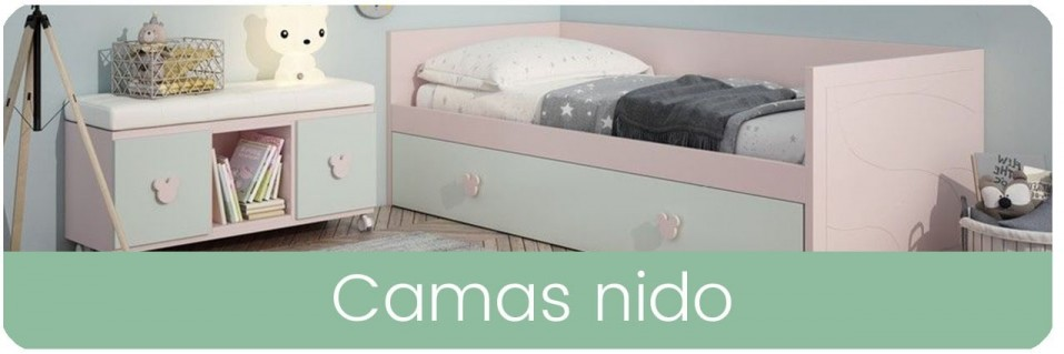Camas Nido para Dormitorios Infantiles | Mobles Sedavi