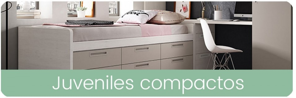 Camas Compactas para Dormitorio Juvenil | Mobles Sedavi