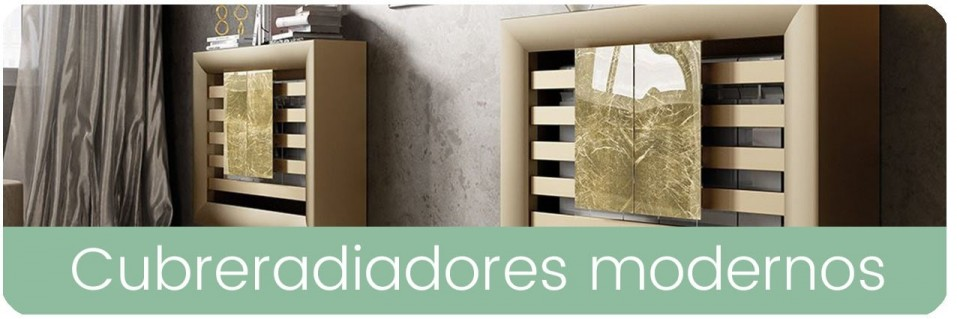 Cubreradiadores modernos para tu hogar | Mobles Sedavi