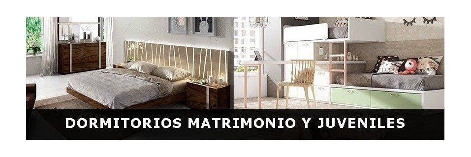 Dormitorios de Matrimonio, Juvenil y Estudio | Mobles Sedavi