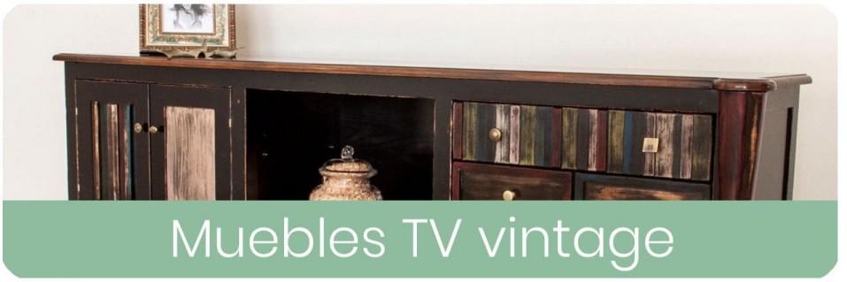 Muebles TV Vintage para el Salón | Mobles Sedaví