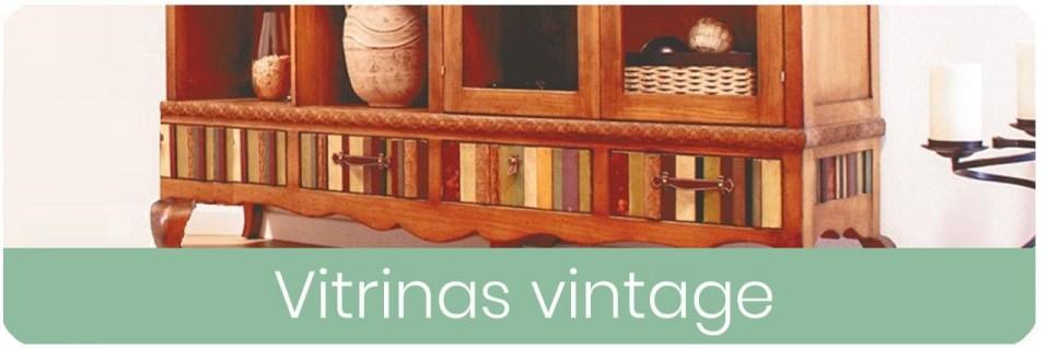 Vitrinas Vintage para el Salón | Mobles Sedaví