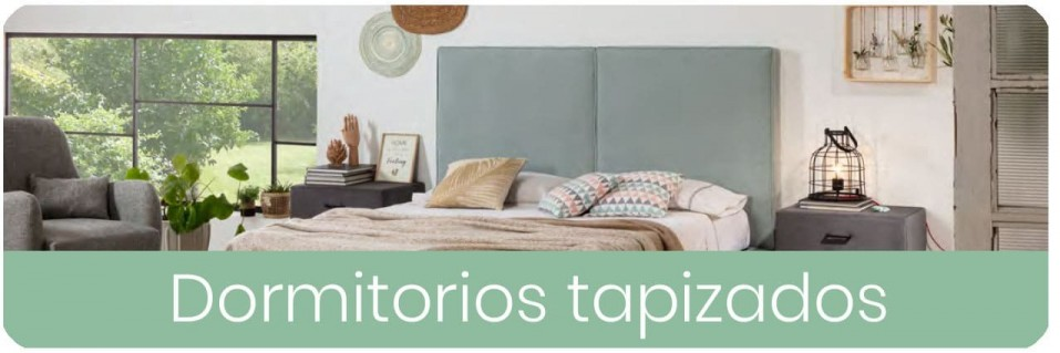 Dormitorios Tapizados para Matrimonio | Mobles Sedaví