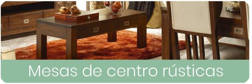 Mesas de Centro Rústicas para el Salón | Mobles Sedaví
