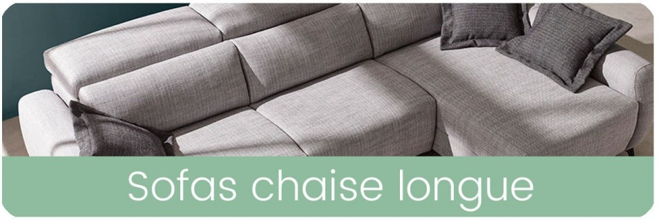 Sofás chaise longue | Mobles Sedaví